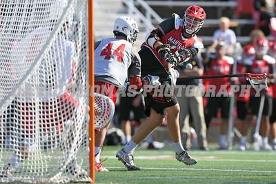 Stony Brook vs Maryland Men's DI Lacrosse Fallball at Stony Brook University October 21, 2017