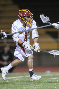 Menlo-Atherton High School Boys Varsity  Lacrosse vs. Monte Vista Mustang, March 11, 2014