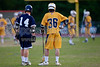 Mt Tabor Spartans vs E Forsyth Eagles Men's Varsity LAX<br /> Tuesday, April 19, 2011 at Mt Tabor High School<br /> Winston-Salem, North Carolina<br /> (file 193832_BV0H8678_1D4)
