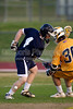 Mt Tabor Spartans vs E Forsyth Eagles Men's Varsity LAX<br /> Tuesday, April 19, 2011 at Mt Tabor High School<br /> Winston-Salem, North Carolina<br /> (file 193631_BV0H8657_1D4)