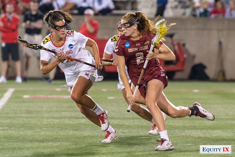 Sam Apuzzo (Boston College) vs Julia Braig (Maryland) - 2018 NAA Women's Lacrosse Final Four