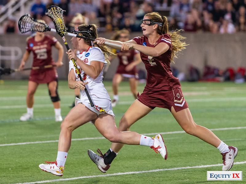 Megan Whittle (Maryland) - Sam Apuzzo (Boston College) - 2018 NCAA Women's Lacrosse Final Four