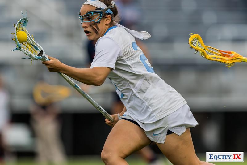 UNC vs Syracuse - ACC Women's Lacrosse Championship - Quarterfinals - 2018 - NCAA Women's Lacrosse © Equity IX - SportsOgram - Leigh Ernst Friestedt - ZyGoSports
