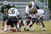 RJR Demons vs W Forsyth Titans Men's Varsity LAX<br /> Friday, April 23, 2010 at Deaton-Thompson Stadium<br /> Winston-Salem, North Carolina<br /> (file 193305_803Q9136_1D3)