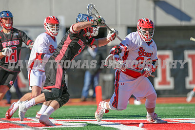 #12 Rutgers travels to Queens facing off against the St John's Red Storm with a game time temperature of 25 degrees. Rutgers came from behind to capture the win 19-15.  At one point the Red Storm was up by 3 in the 4th quarter.