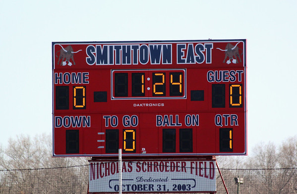 Sachem East vs Smithtown East 3/27/2012