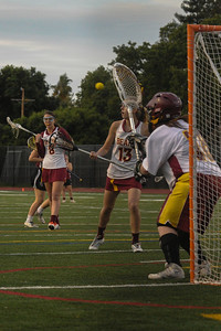 Menlo-Atherton High School Girls Varsity  Lacrosse vs. Sacred Heart Prep, April 03, 2014