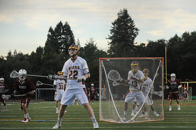 Menlo-Atherton High School Boys Varsity  Lacrosse vs. Sacred Heart Prep, April 10, 2014