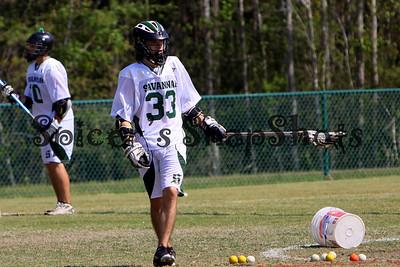 Savannah Lacrosse vs Bishops 3-26-11