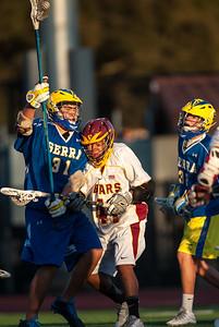 Menlo-Atherton High School Boy's JV Lacrosse vs. Junípero Serra High School, March 4, 2015