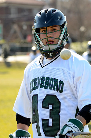 Sewanee College vs Greensboro College Mens Lacrosse 2013