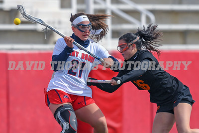 Two top 20 teams battle it out at Lavalle Stadium as #19 Stony Brook falls to #20 Florida in women's Lacrosse in a back and forth game decided by 1 goal as the Florida Gators defeat the Seawolves 11-10.
