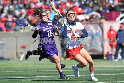Stony Brook vs Northwestern Womens Lacrosse