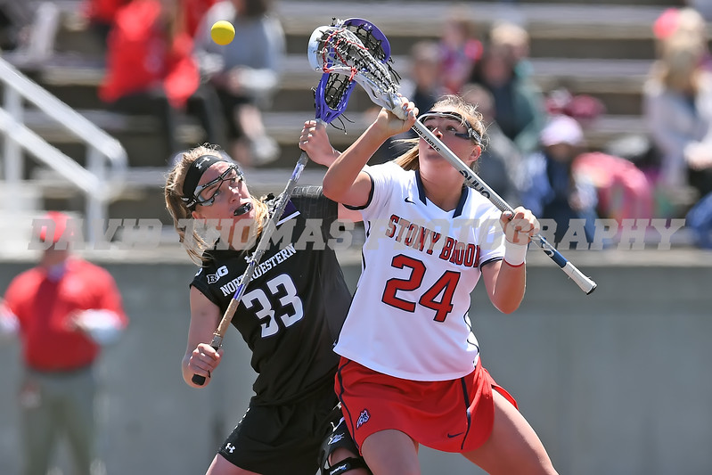 Stony Brook vs Northwestern Women's Lacrosse NCAA Playoff Round 2