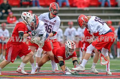 NCAA Division I Men's Lacrosse Stony Brook vs Sacred Heart
