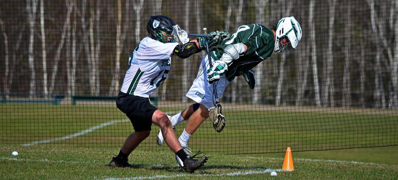 Stowe Lacrosse Vs. GMVS 4/26/14