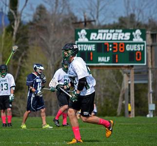 Stowe Lacrosse vs. Burlington High School 5/12/14