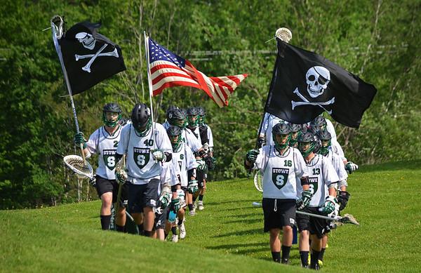 Stowe Lacrosse vs. U-32 6/3/14