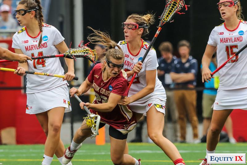 NCAA Women's Lacrosse Finals Maryland vs Boston College May 28, 2017  Gillette Stadium - Foxborough, MA  Maryland (16) - Boston College (13)  Maryland Women's Lacrosse NCAA 2017 Champions