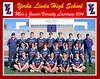 LAX JV Team Photo Framed 11 x 14