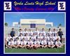 LAX Varsity Photo Framed