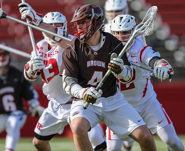 NCAA Lacrosse  2017:  Brown Bears vs Rutgers Scarlet Knights MAR 4