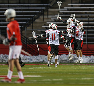 NCAA Mens Lacrosse  2017:  Stony Brook Seawolves vs Rutgers Scarlet Knights MAR 10