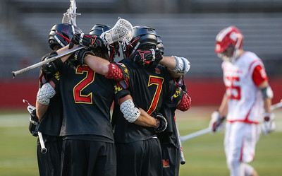 NCAA Lacrosse  2017:  Maryland Terrapins vs Rutgers Scarlet Knights April 16