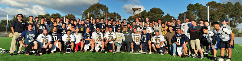 Alumni game - team photo