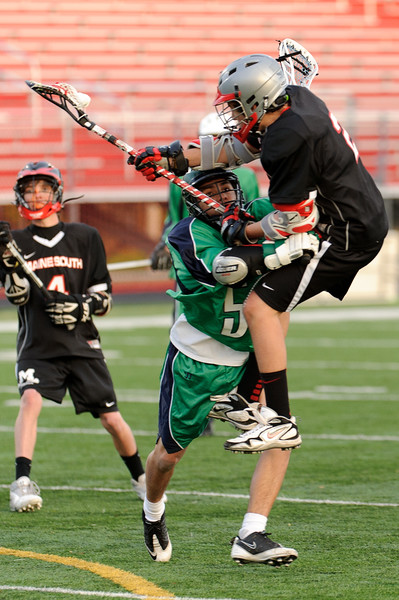 Notre Dame @ Maine South Lacrosse 04.02.12