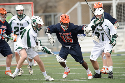 Illinois / Michigan State Lacrosse @ Lake Zurich High School 03.17.13