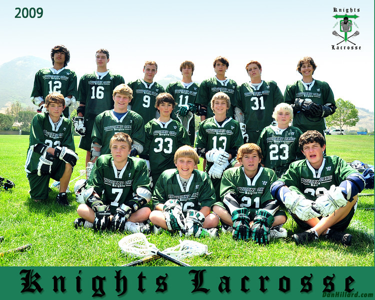 2009 Knights 7-8th Green Team