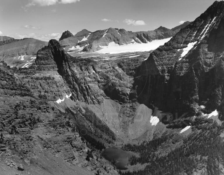 Aerial View of Glacier Park