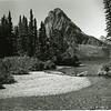 Sinopah Peak over looking Two Medicine Lake