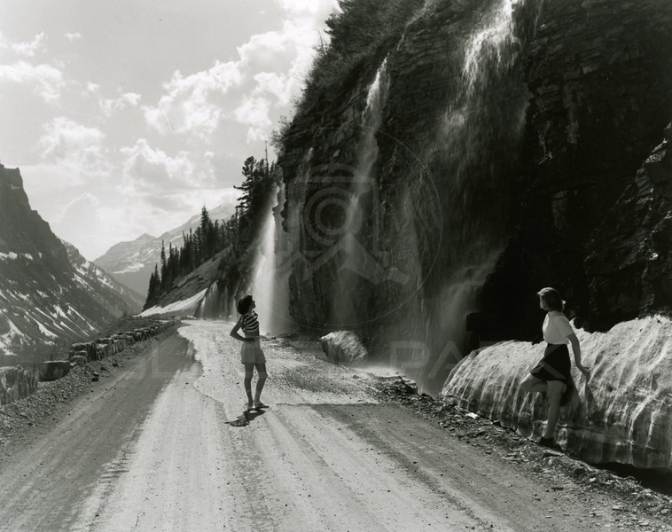 Sheila Lacy at Weeping Wall