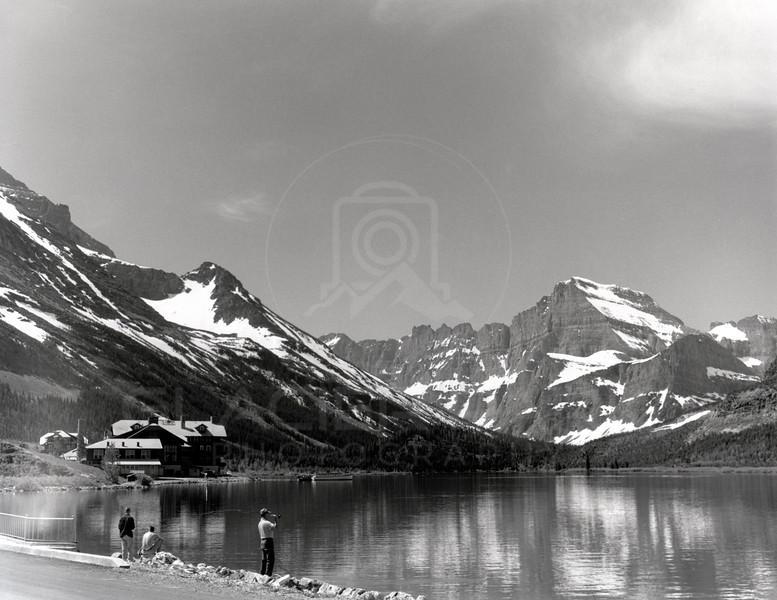 Mount Gould Many Glacier Lodge