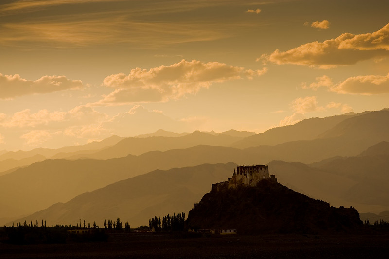 Stakna Monastery. Just outside Leh.