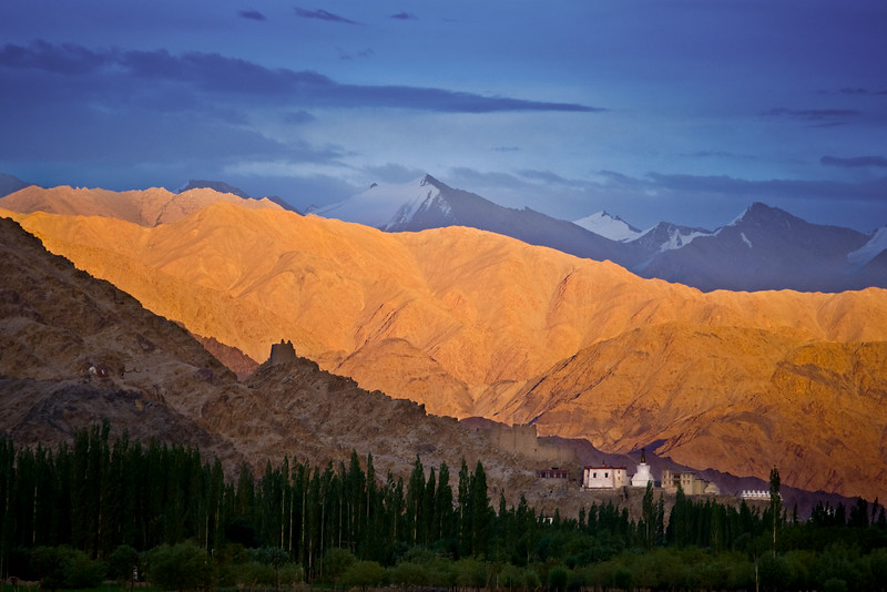 Shey Fort. Just outside Leh.