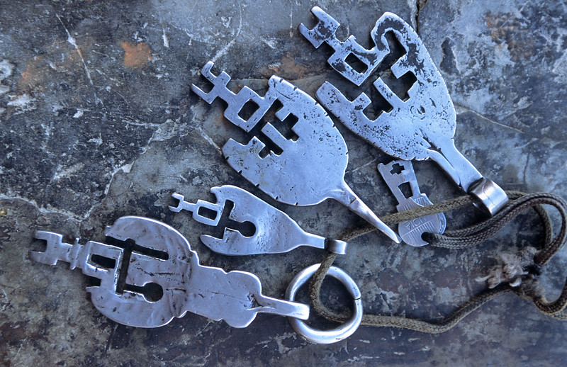 The keys to the Diskit Monastery. Nubra Valley.