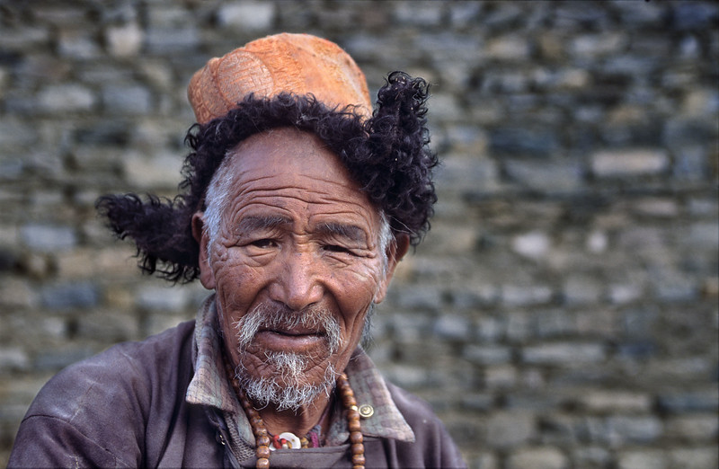 Man from the village of Korzok, Tso Moriri.