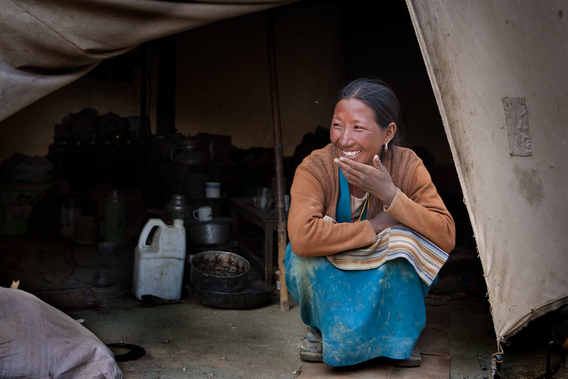 Tibetan refugee. Sumdo.