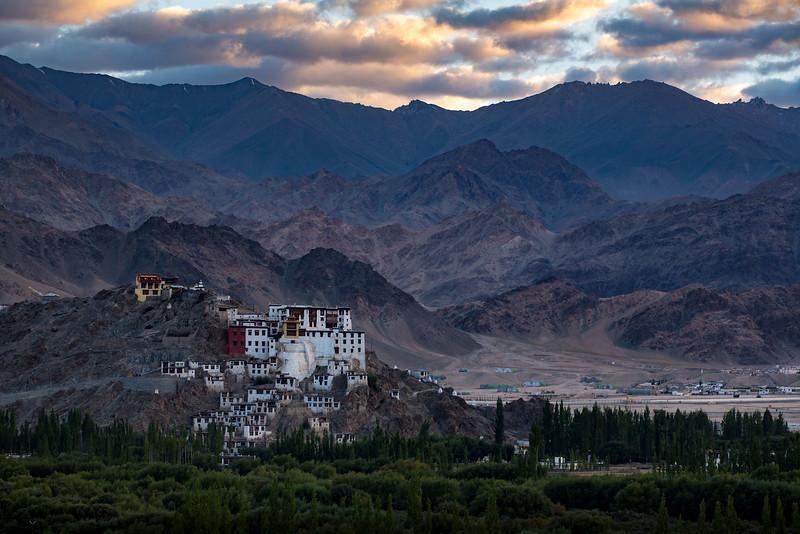 Spituk Monastery, Leh.