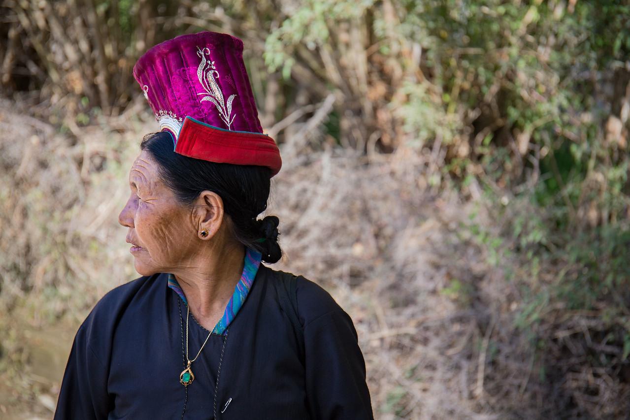 Ladakhi lady. Sumur. Nubra Valley.