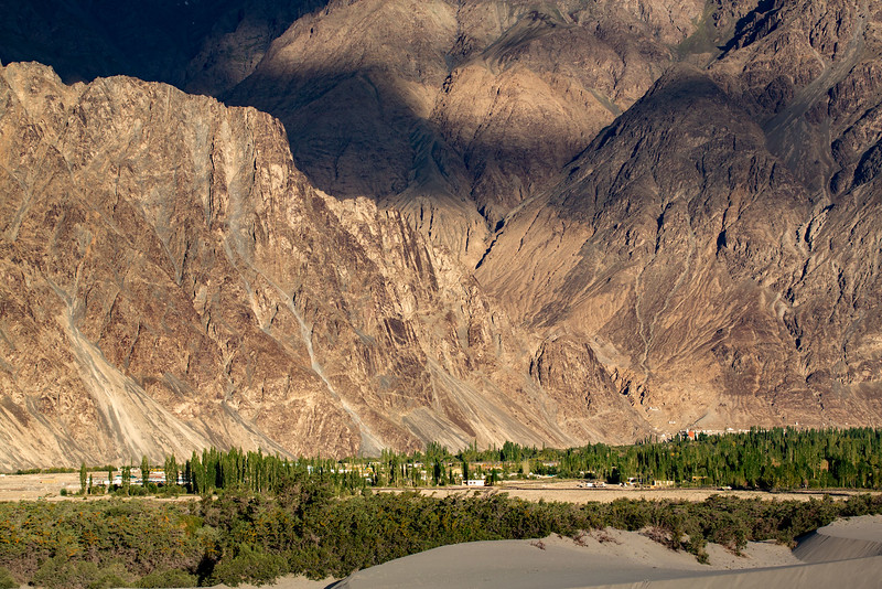 Hundar village. Nubra Valley.