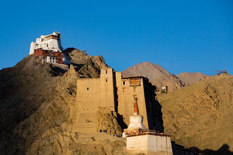 Namgyal Tsemo Monastery in Leh.
