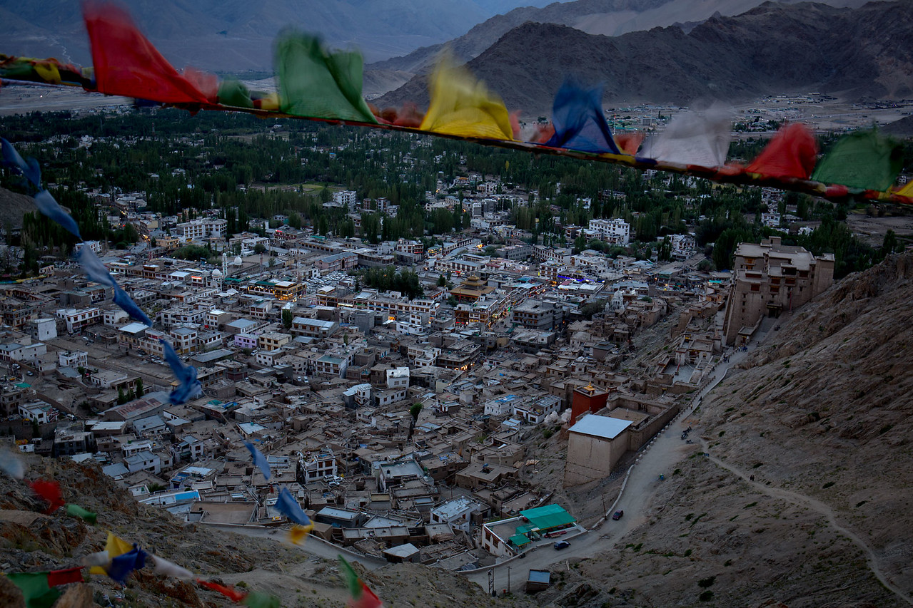 Leh by night.