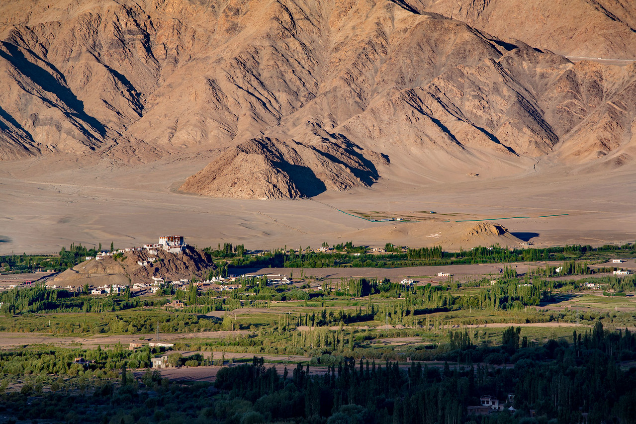 Stakna Monastery, not far from Leh.