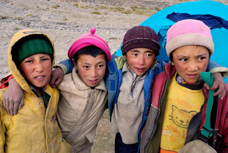 Children at Photoksur village