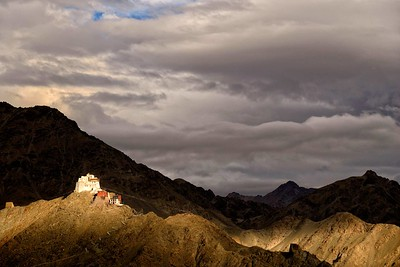 View from Shanti Stupa Leh