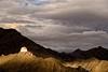 View from Shanti Stupa Leh